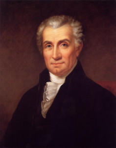 James Monroe, painted by Rembrandt Peale about 1824-1825