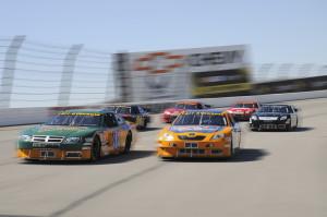 6 cars in turn 3