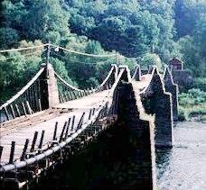 Lackawaxen Roebling Bridge
